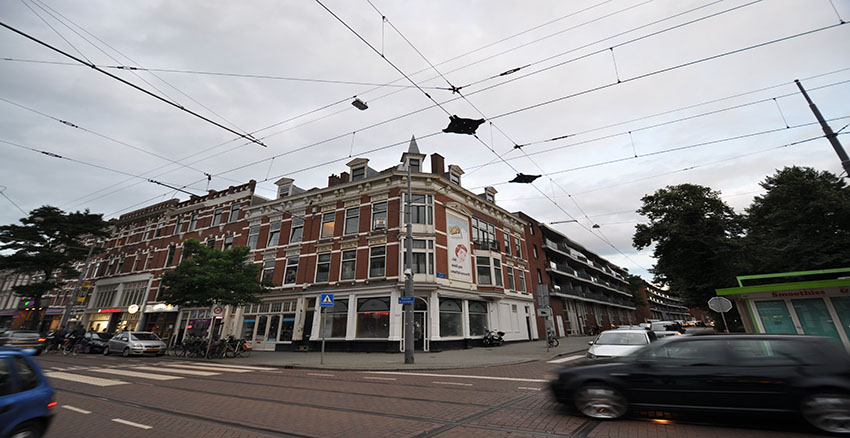 Spacious 3 bedroom ppartement for rent on the Nieuwe Binnenweg in Rotterdam Center.