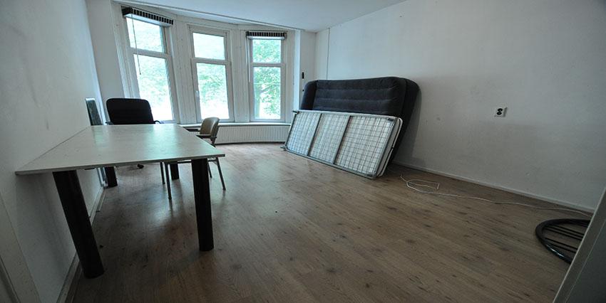 Studenten kamer te huur aan de Beukelsdijk in Rotterdam Centrum.