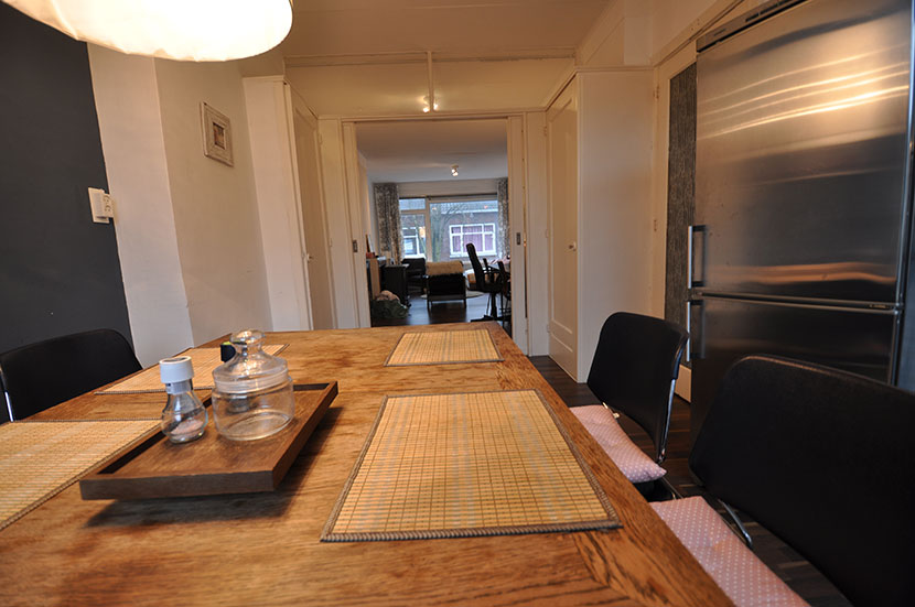 Four room apartment for rent offered to the Markerstraat in Rotterdam South.